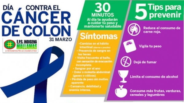 DIA MUNDIAL CONTRA EL CANCER DE COLON